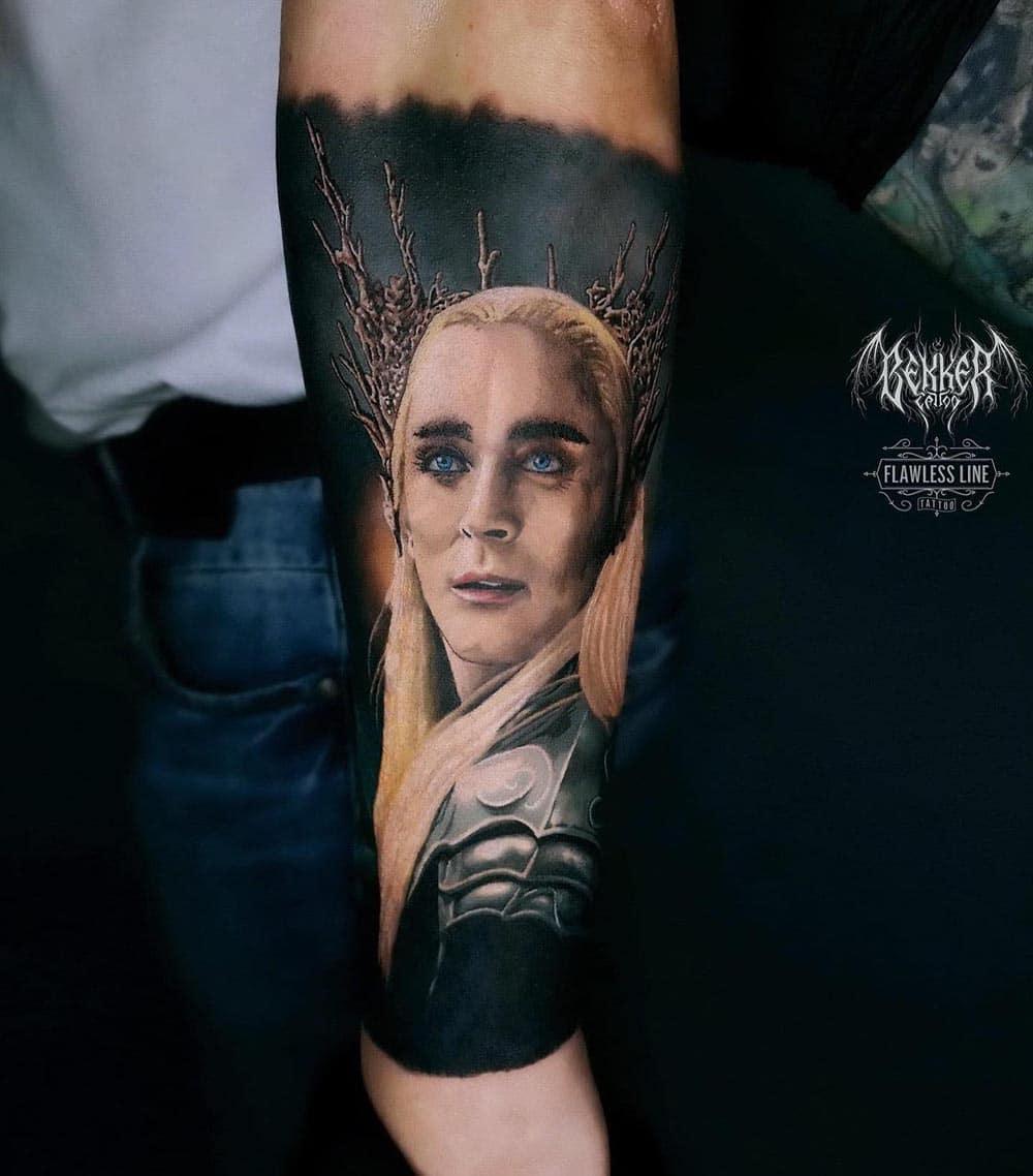 Tattoo von einem Mann