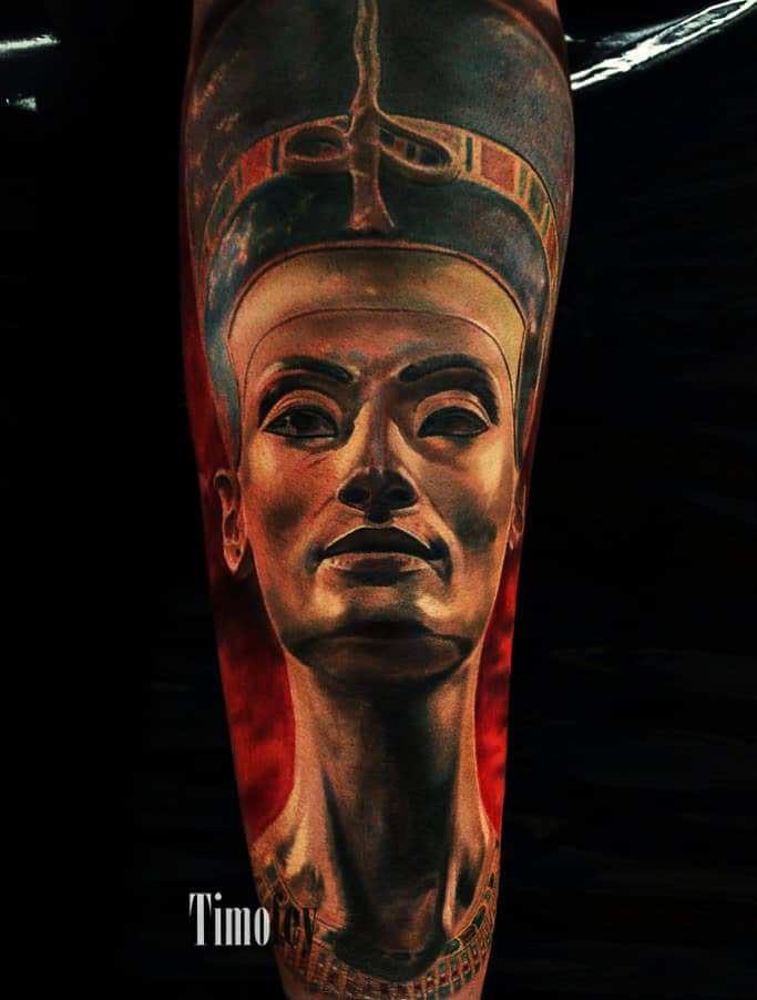 Ägyptische Pharaonen Tattoo