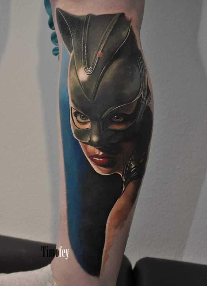 Cat Woman Tattoo