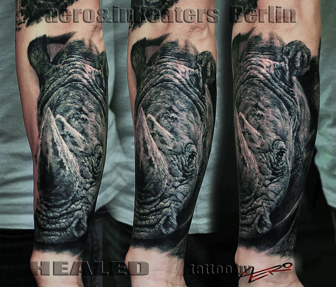 Nashorn Tattoo
