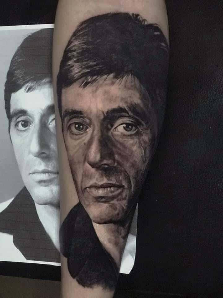 Bild Tattoo von einem Mann