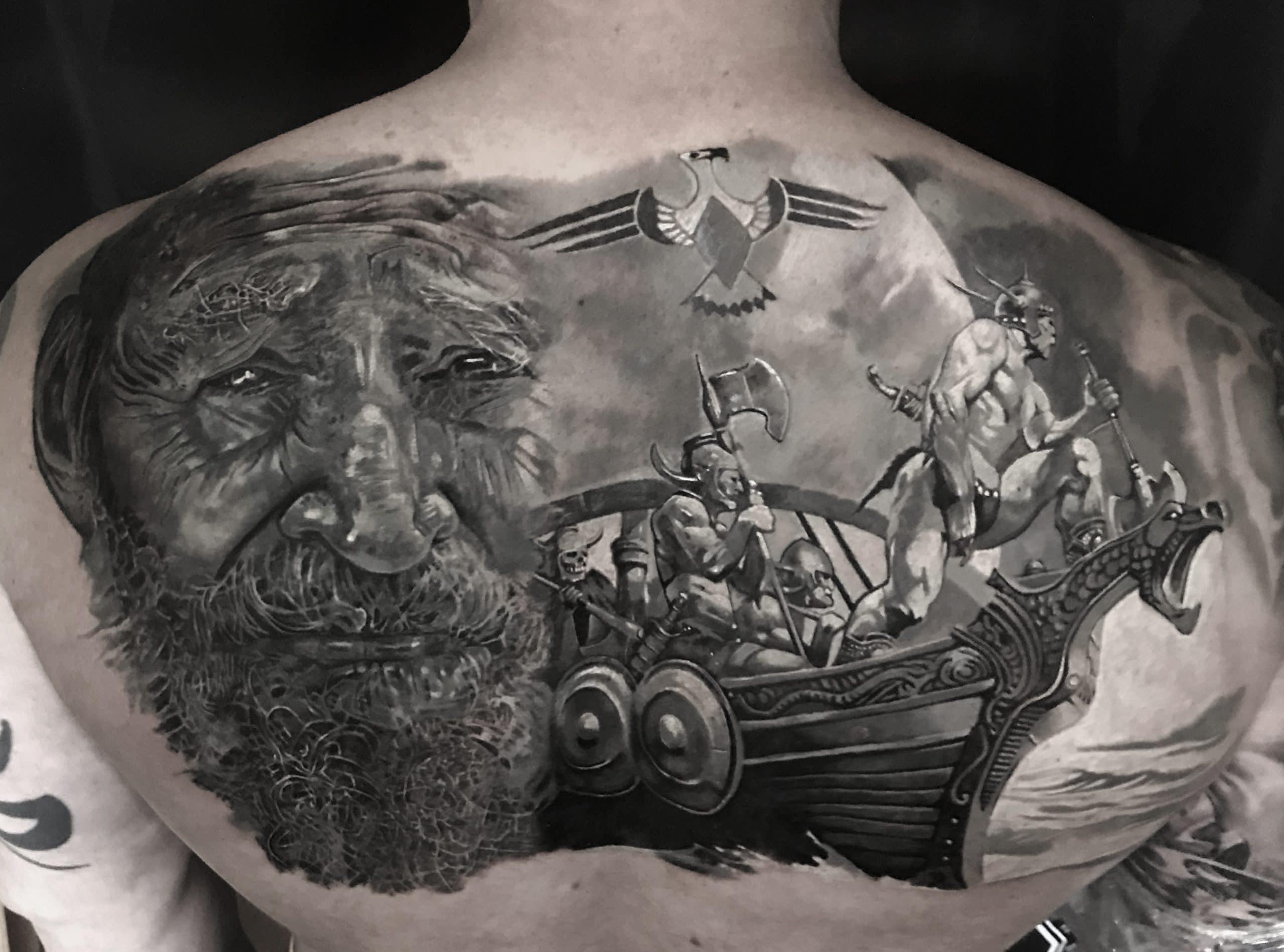 Schiffs Tattoo