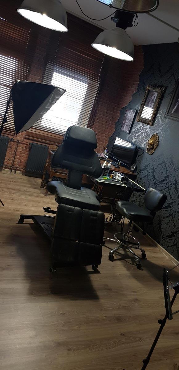 Tattoo Studioraum